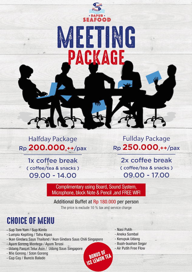 Half-day / Full-day Package