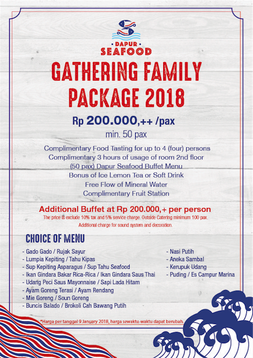Package B - Family Gathering