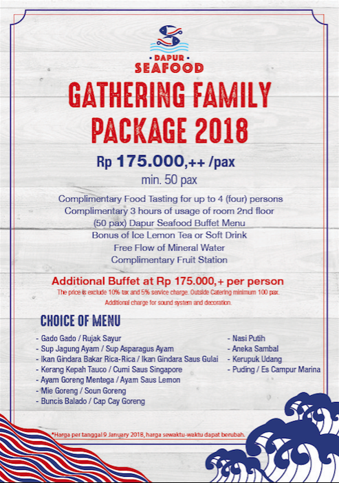 Package A - Family Gathering
